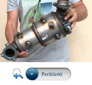 Dpf filtru katalizatoriu isoperavimas ispjovimas pasalinimas ir isprogramavimas