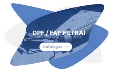 dpf fap filtrai pagal modeli