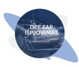 dpf ispjovimas isprogramavimas